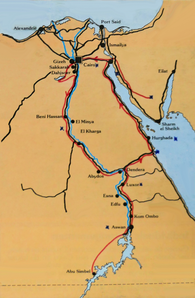 RouteEgypte