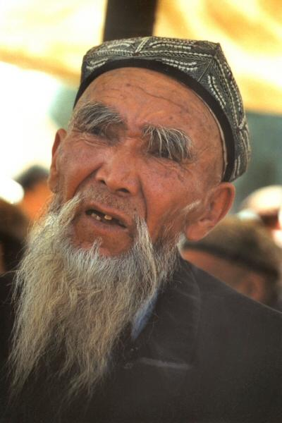Man in Kashgar