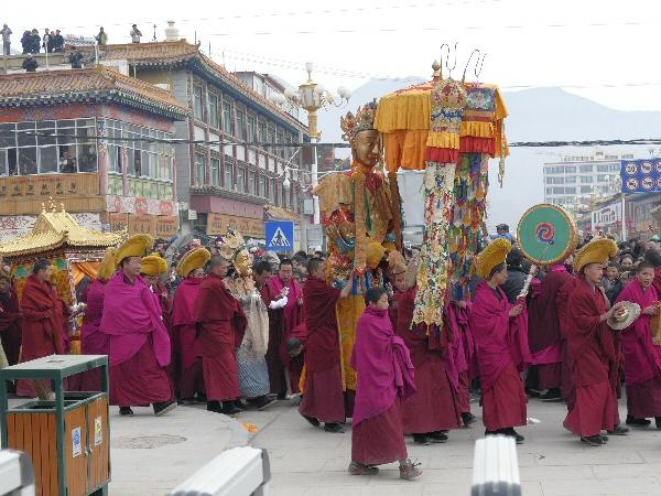 Labrang-klooster in Xiahe