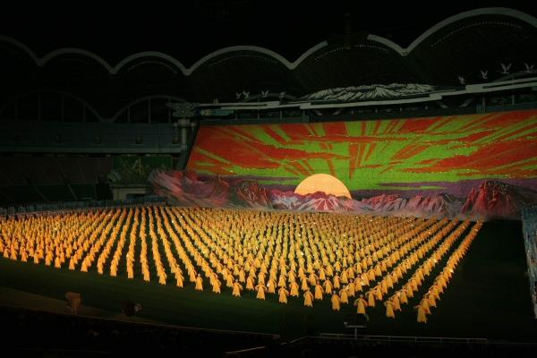 Arirang Mass Games, Noord-Korea